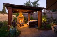 Outdoor Structures, backyard Gazebos and covered landscape ...