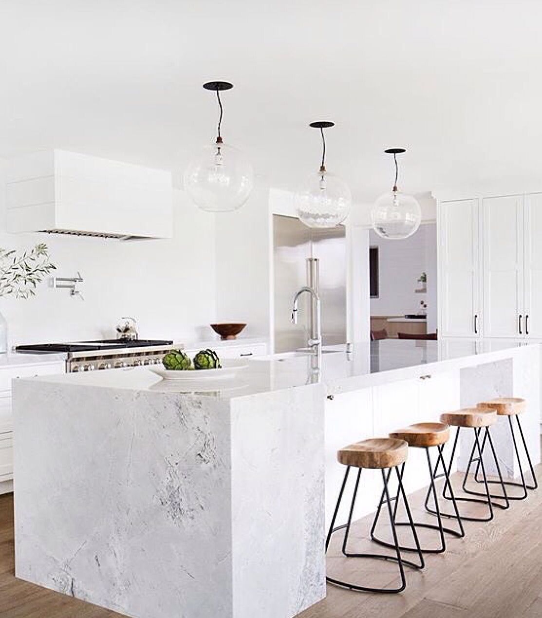 Modern White Kitchen Island Bright White Modern Kitchen Https Emfurn Collections