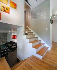 Half Staircase In Split-level Home | Interior | Pinterest ...