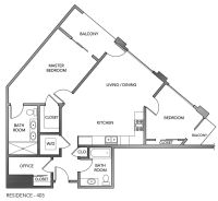 Triangle block house plans - House design plans