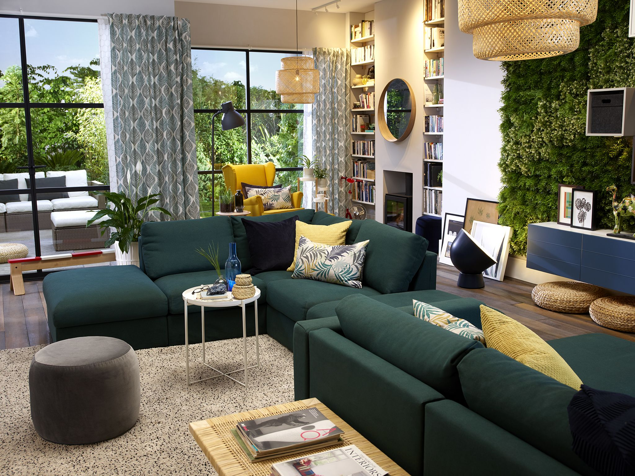 Meuble Living Ikea Image Result For Ikea Vimle Sofa Green Living Room