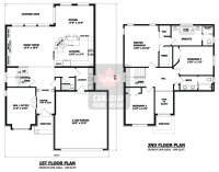 2-story-house-plans-9 | hair | Pinterest | House, Attic ...