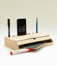 Desk organizer mobile phone stand iphone 6 dock desktop ...