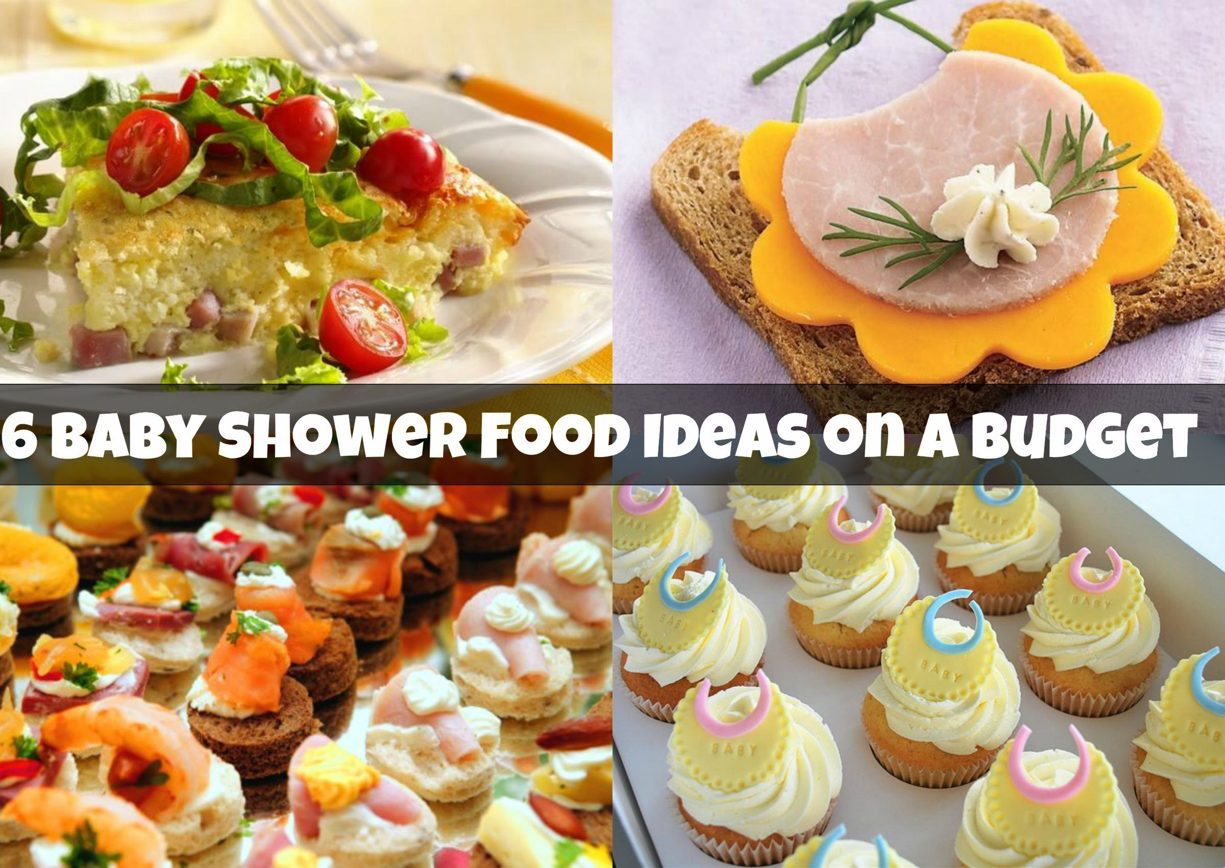 Great ... Marvelous Baby Shower Food On A Budget Part   13: ... Food Ideas ...