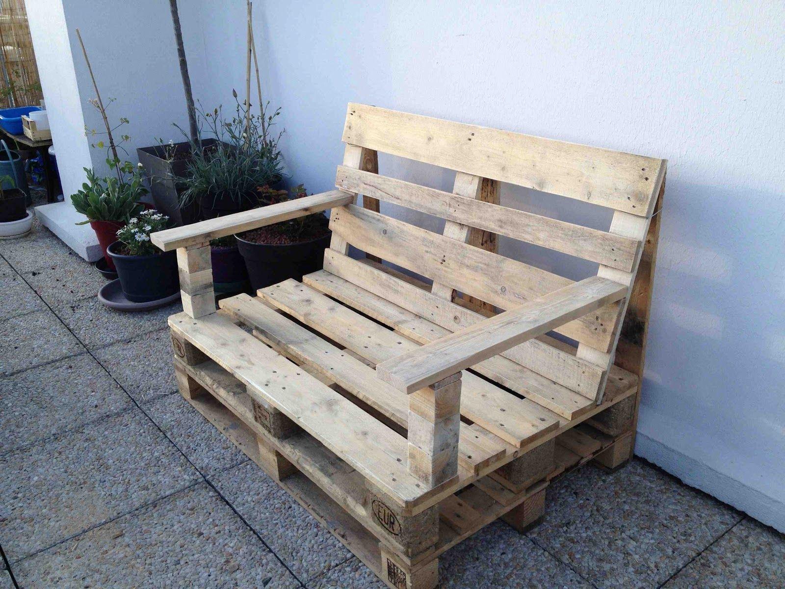 Fabriquer Salon De Jardin En Palette | Salon De Jardin En Palette ...