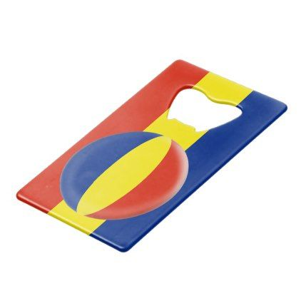 Romania Romanian Romansk Romanski Flag Credit Card Bottle Opener - home design credit card