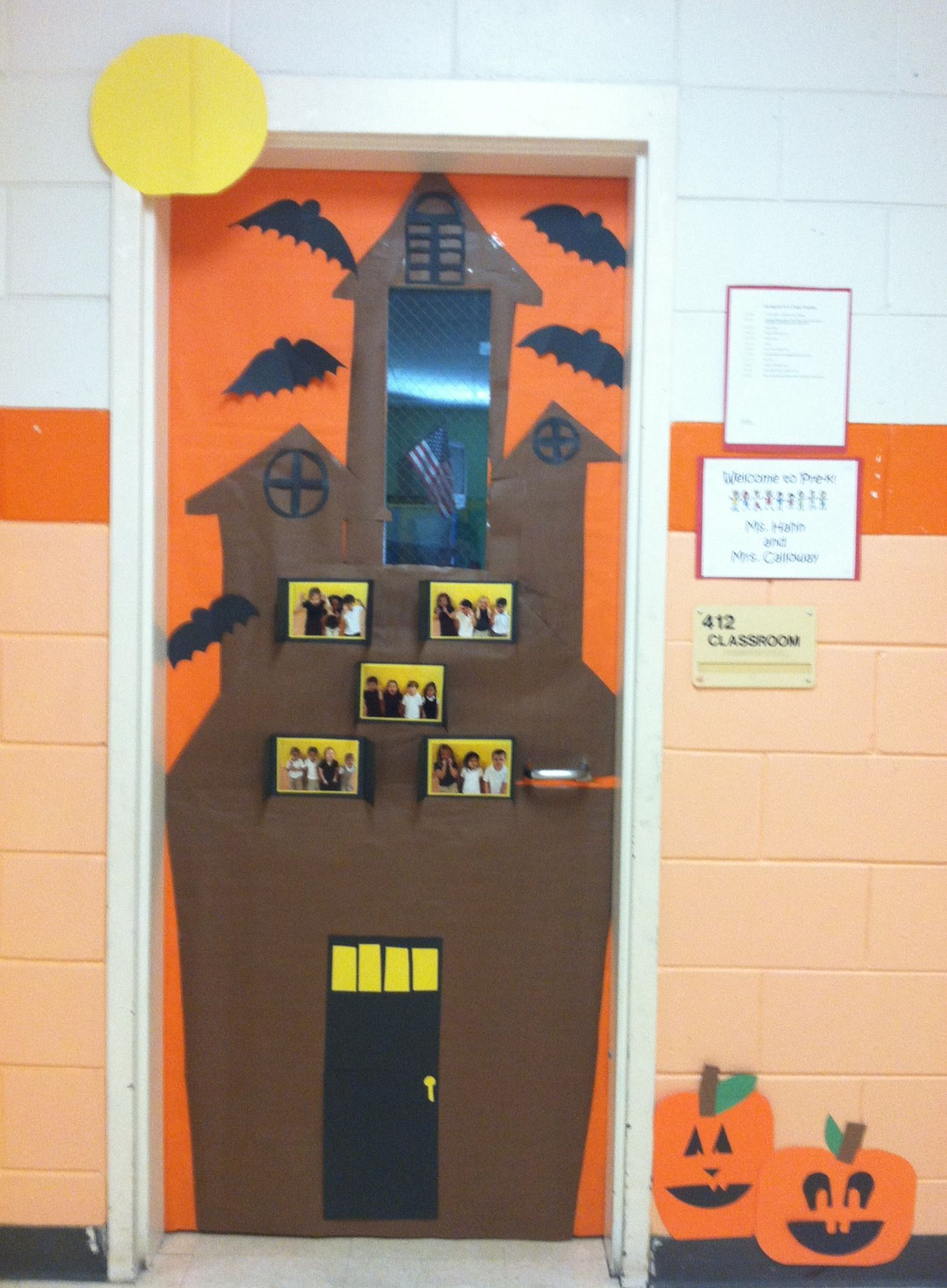 Halloween Classroom Door Decorations Ideas : Scary halloween classroom door decorations