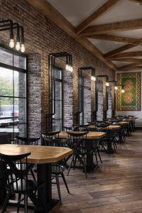 Interior Photography of Buba cafe designed by Soboleva ...