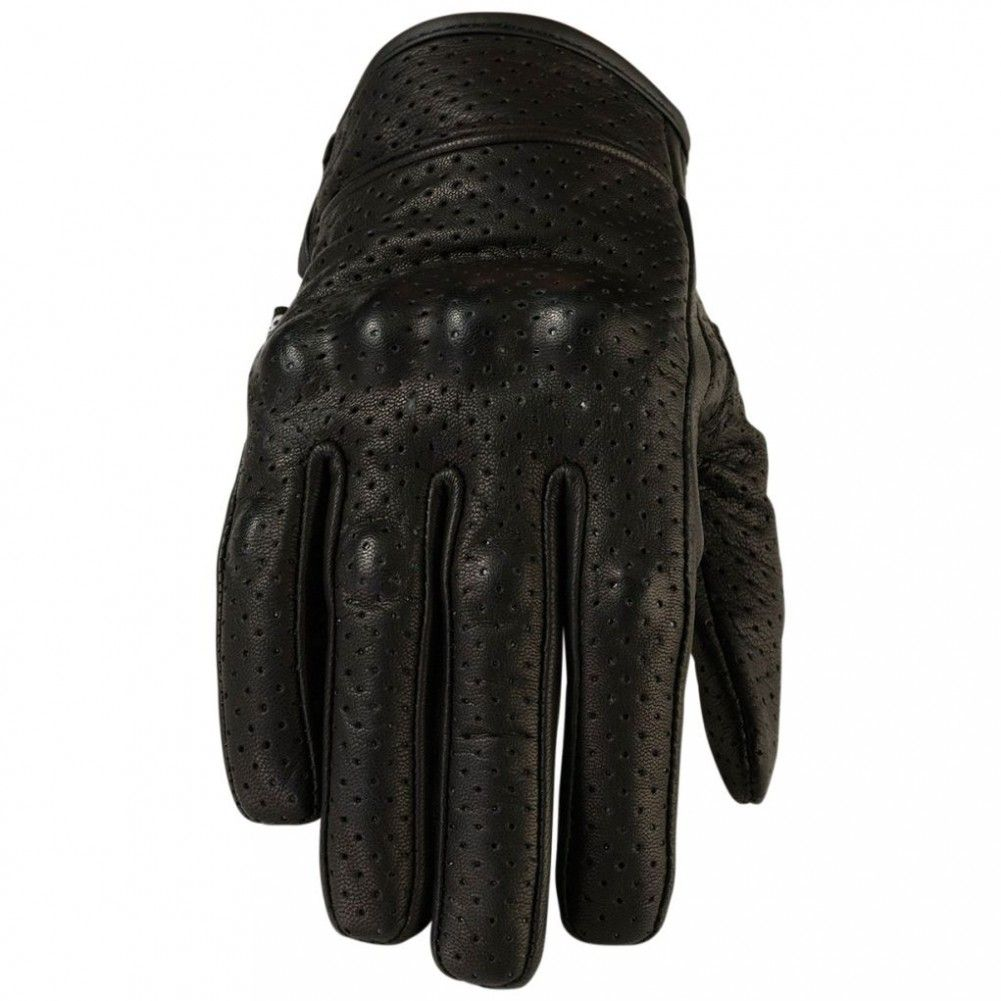 Z1r 270 perforated womens leather motorcycle street road bike riding gloves