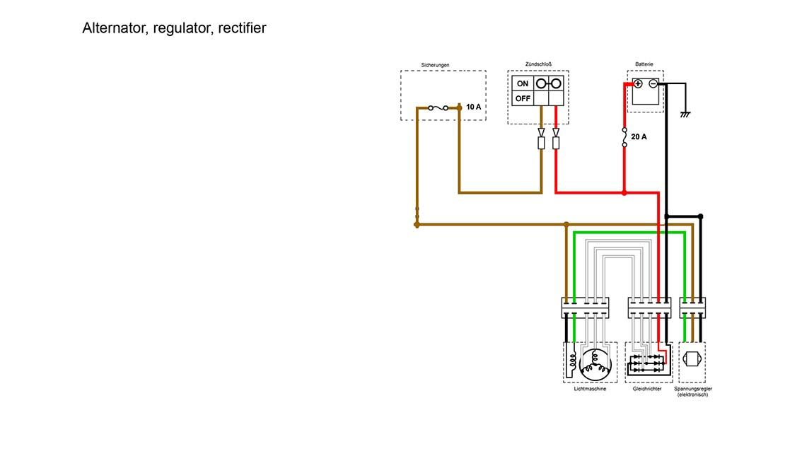 xs400 simplified wiring diagram