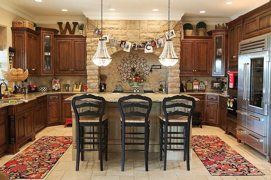 stylish and subtle christmas kitchen decorating idea from julie - christmas kitchen decor