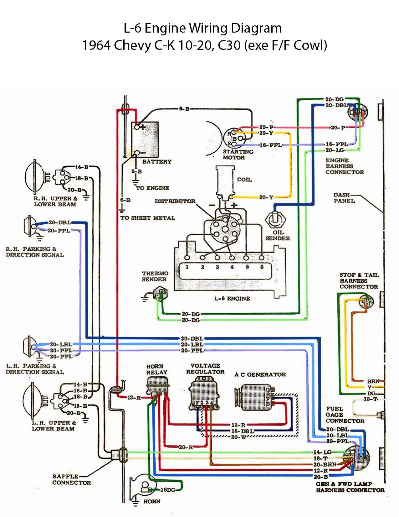 1963 c10 chevy truck wiring diagram