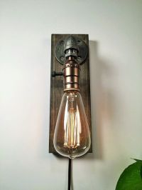 Industrial wall Lamp - Sconce - Wall Light - Steampunk ...