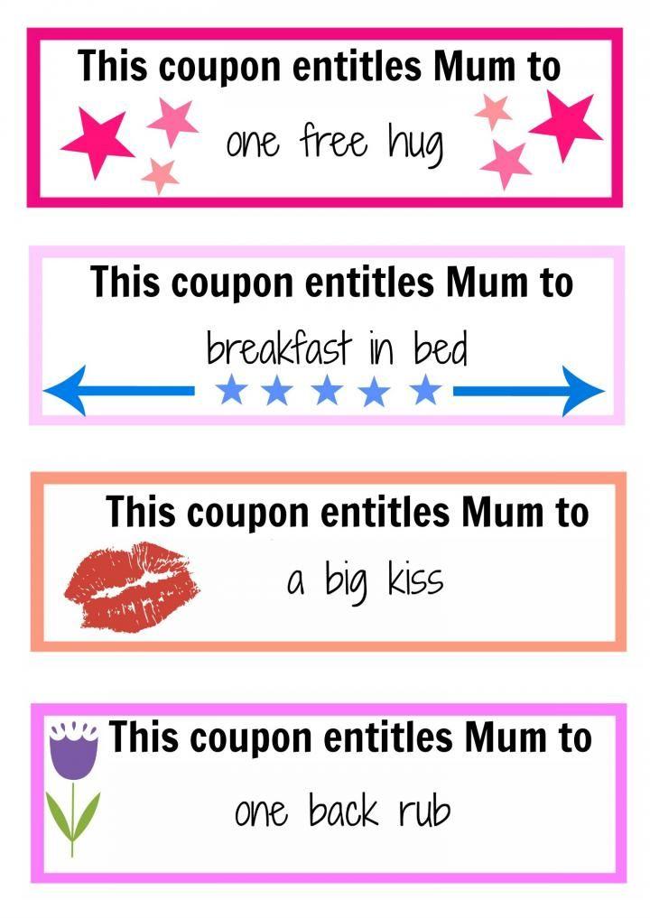 blank coupon templates 8 christmas coupons christmas pinterest