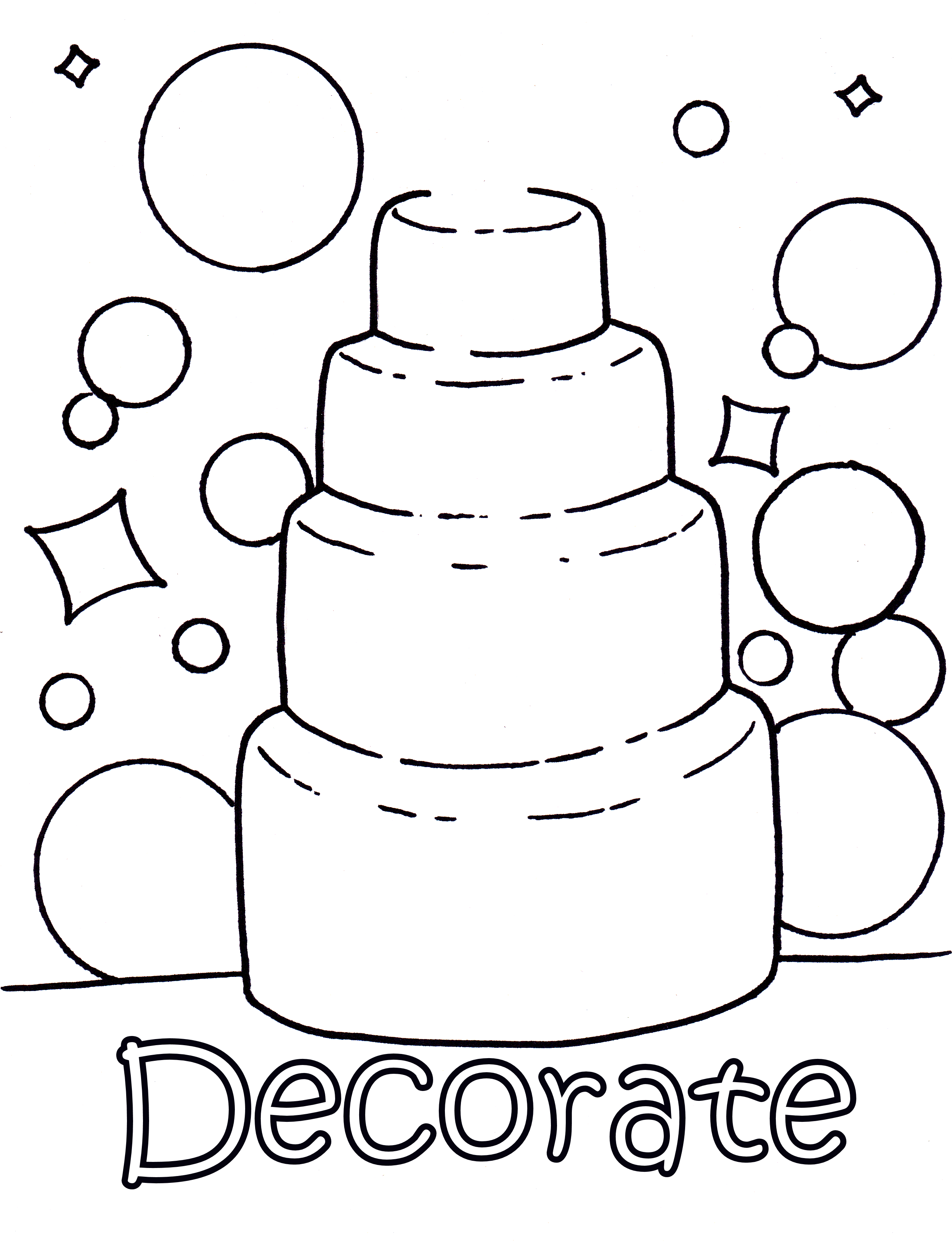 Wedding cake colouring pages wedding coloring pages prints and colors