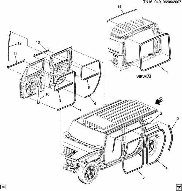 hummer h2 window wiring diagram