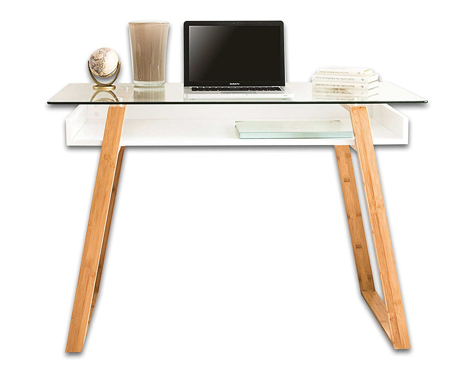 Schreibtisch Modern Amazon Bonvivo Designer Desk Massimo Modern Secretary In A Contemporary
