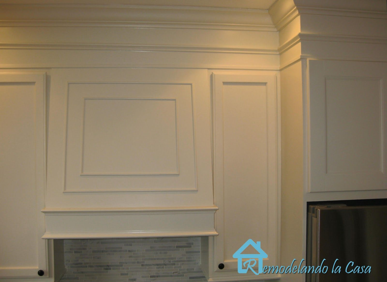 Crown Moulding Above Kitchen Cabinets Closing The Space Above The Kitchen Cabinets Kitchens