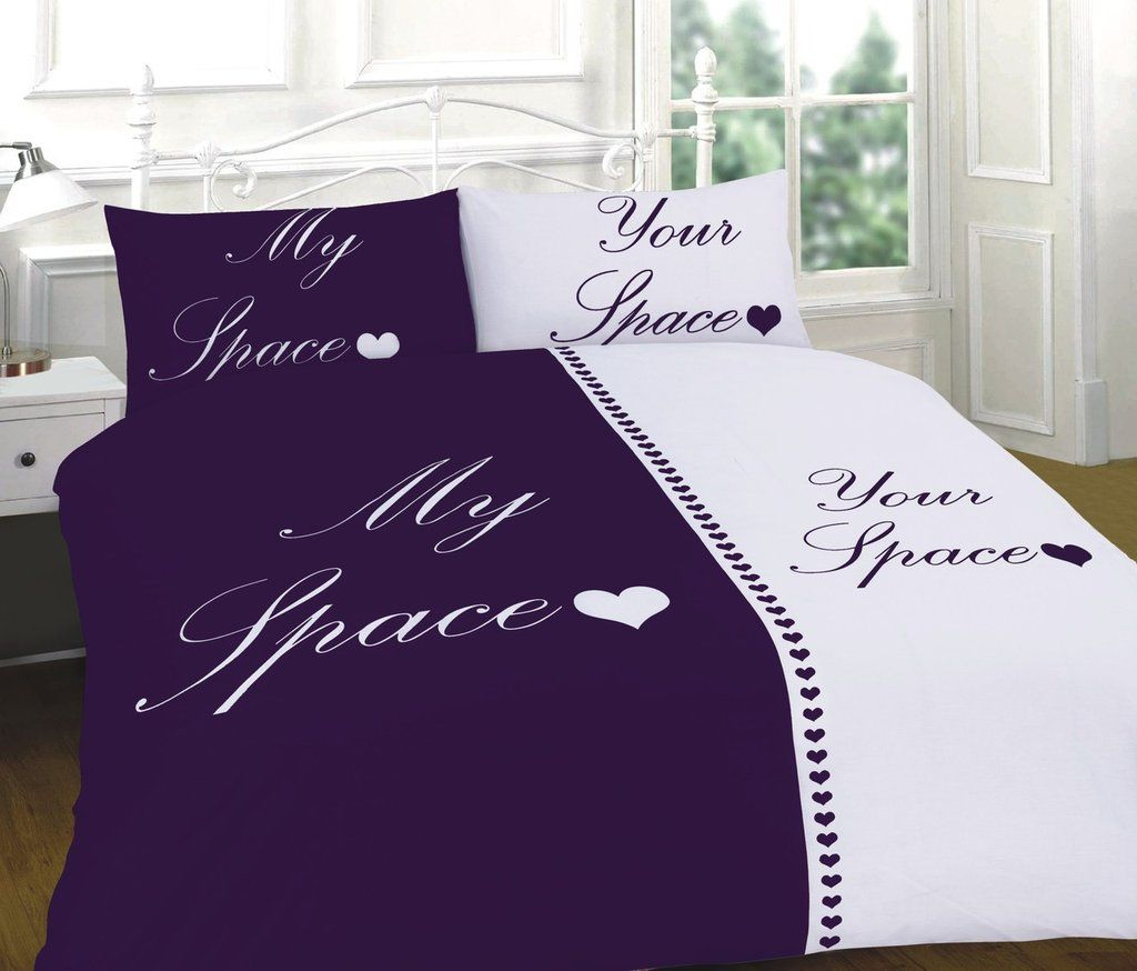 Plum Duvet Cover My Space Your Space White Plum Duvet Cover Set Http Www