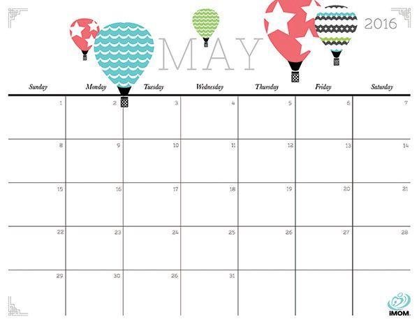 20 Free Printable Calendars for 2016 Free printable calendar - free printable calendar