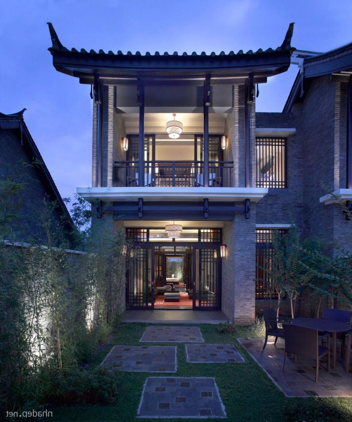 Asian House Decor Asian House Design Chinese Style Two Storey With Large