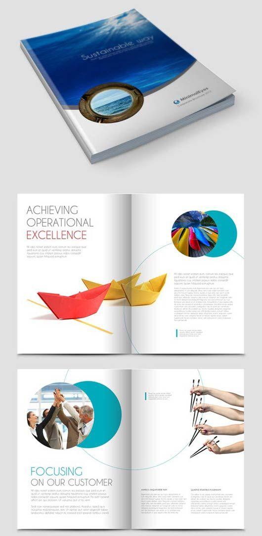 Free Annual Report Design Templates Annual Report Brochure - free annual report templates