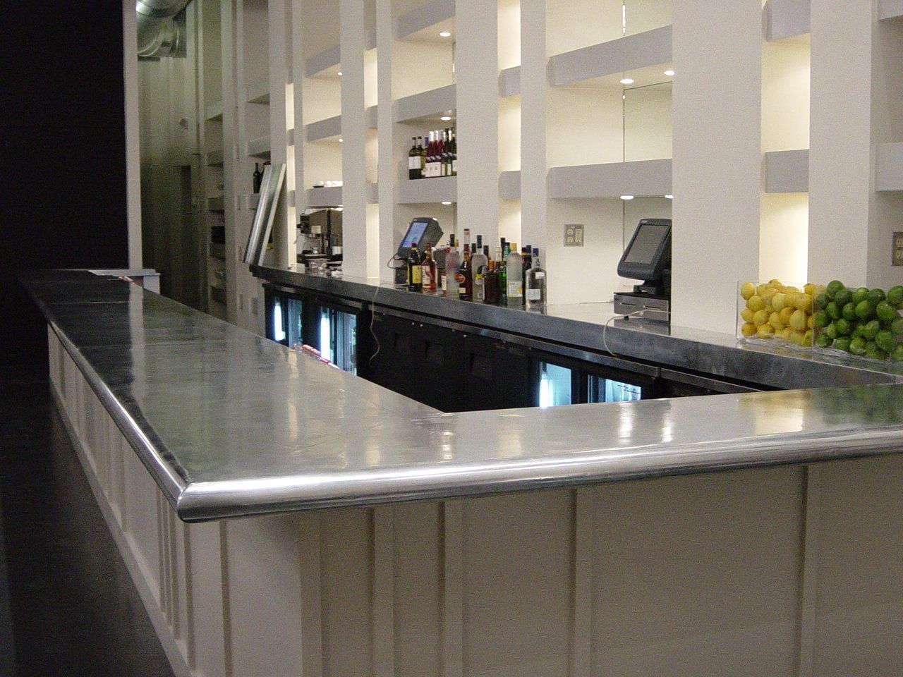 Kitchen Zinc Menu Zinc Bar Top Photo From Customsteelatl Kitchens