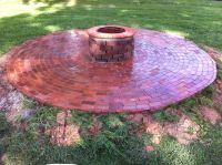 old bricks...into an outdoor fire pit! | Misc. Reuse ...