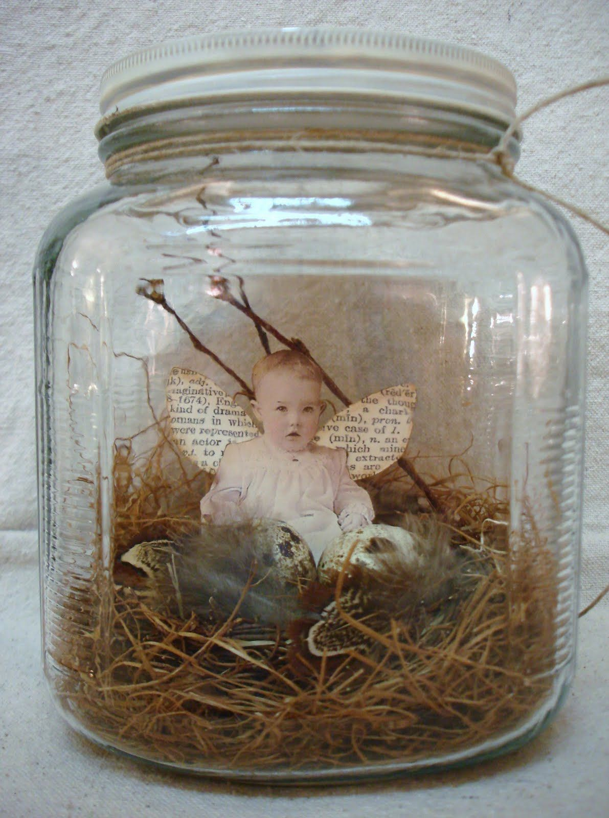 Jars On Sale Pdf Nest Baby In A Jar Tutorial No Shipping Cost Jars