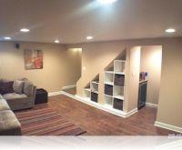 Modern Under Stairs Storage Design Ideas Wilmette Basement ...