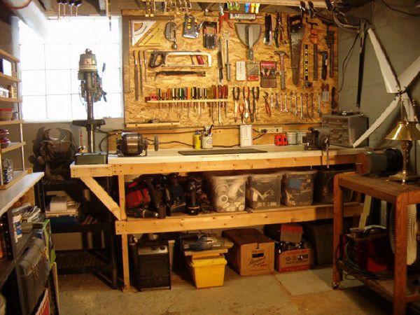 Woodworking Workshop Storage Ideas If an individual desire to - home workshop ideas