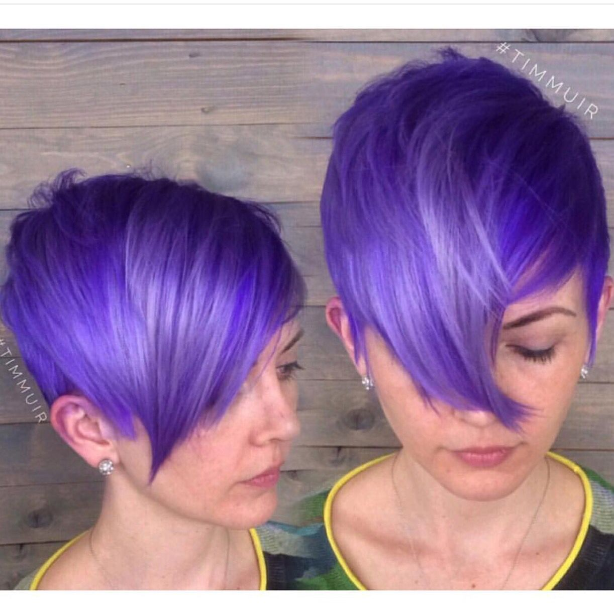 Alter Ego Hair Salon Notice Me Purple Hair Color Purple Color Melt And Snappy