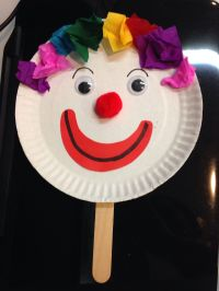 Paper plate clown | Crafts for kiddos | Pinterest | Craft ...