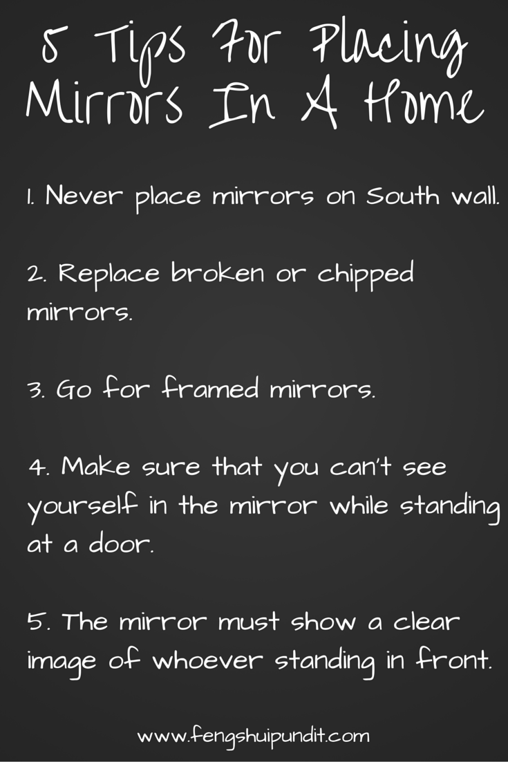 Bad Feng Shui Mirror Placement 5 Dead Simple Tips For Ideal Placement Of Mirrors In Your