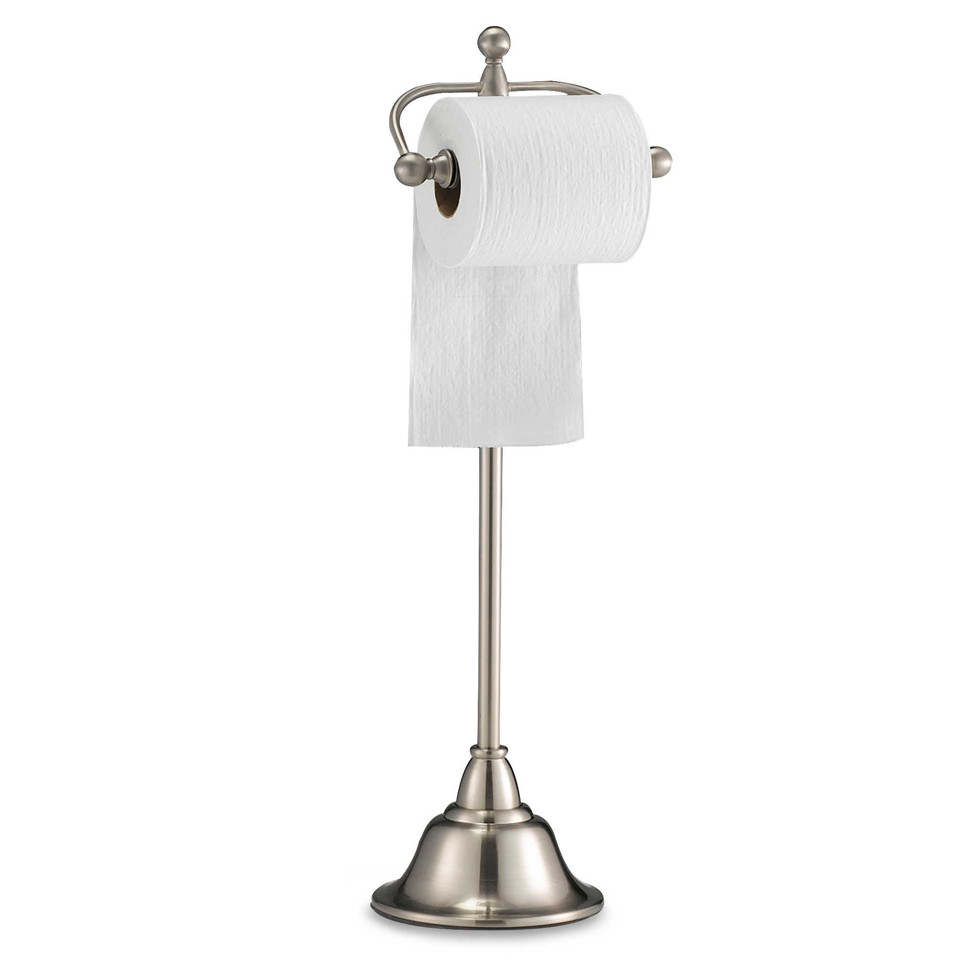 Floor Toilet Paper Stand Standing Toilet Paper Holder Home Decor