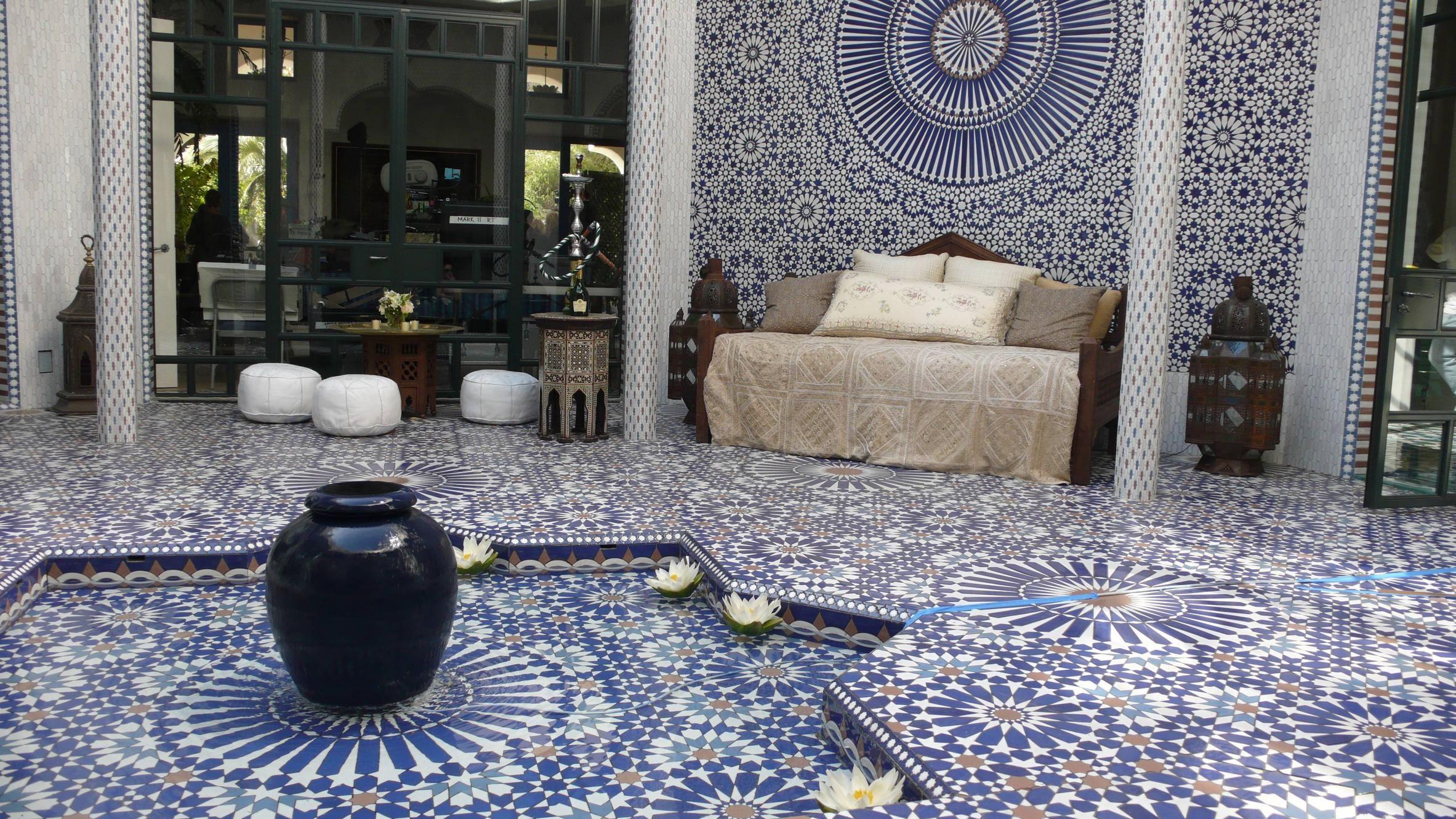 Moroccan mosaic tiles from badia design inc