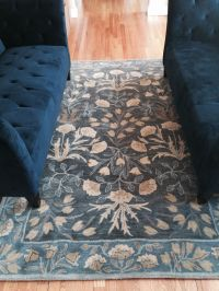 Blue Adeline Rug from Pottery Barn. It's everything I ...