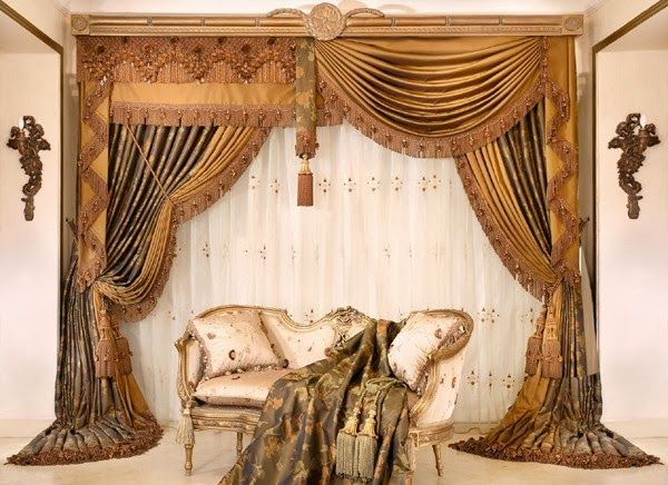 Luxurious+Living+Room+Curtains living room design ideas - luxury curtains for living room