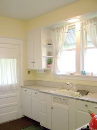 Yellow Paint Colors For Kitchen Walls Intended For White ...