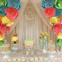 Baby Shower Party Ideas | Backdrops, Flower and Babies
