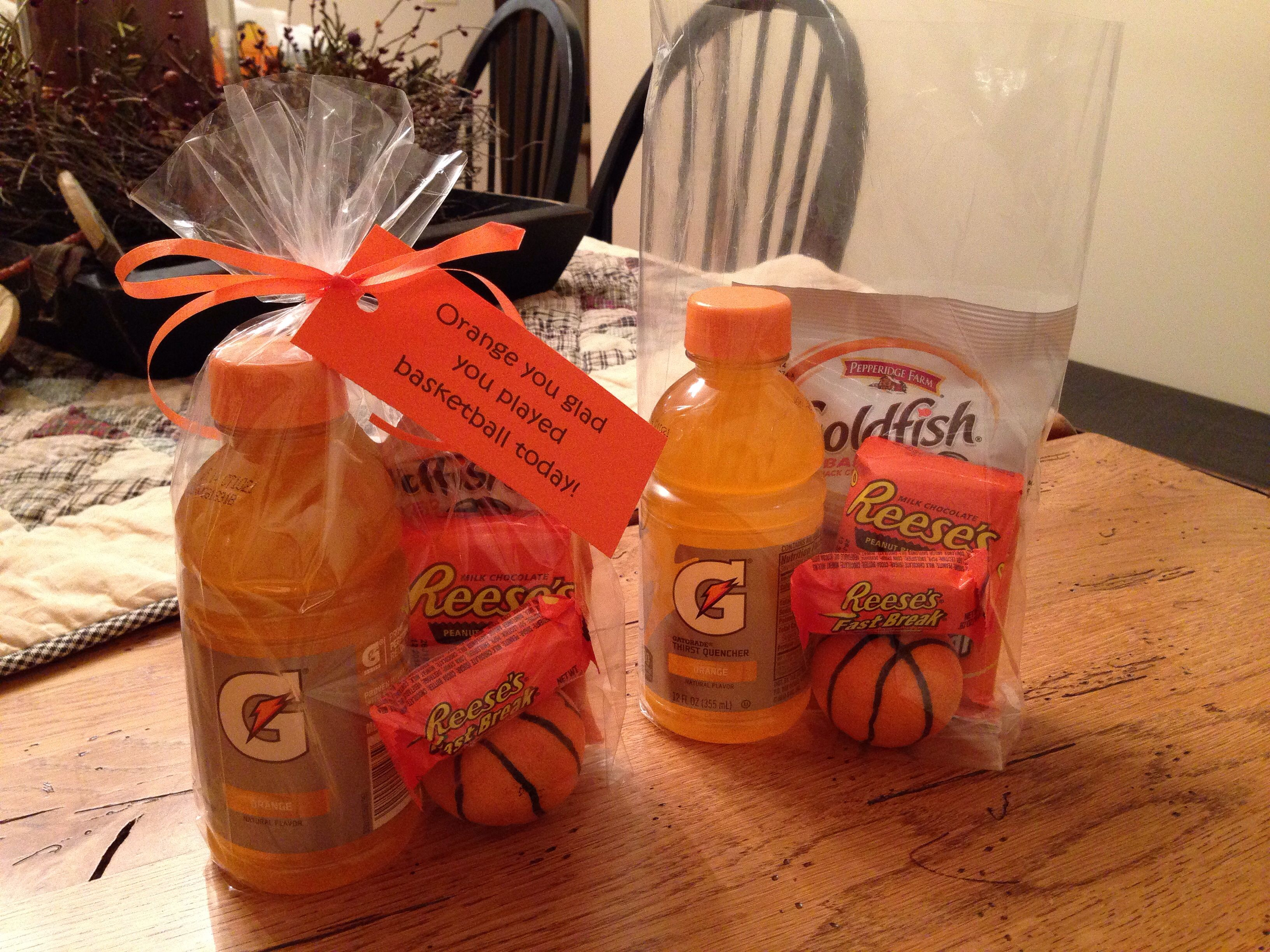 Orange You Glad You Played Basketball Today Fun Food