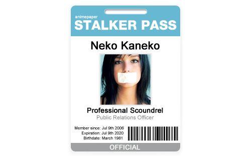 Stalker Pass - Badge ID Card Free PSD files Pinterest Badges - id card psd template