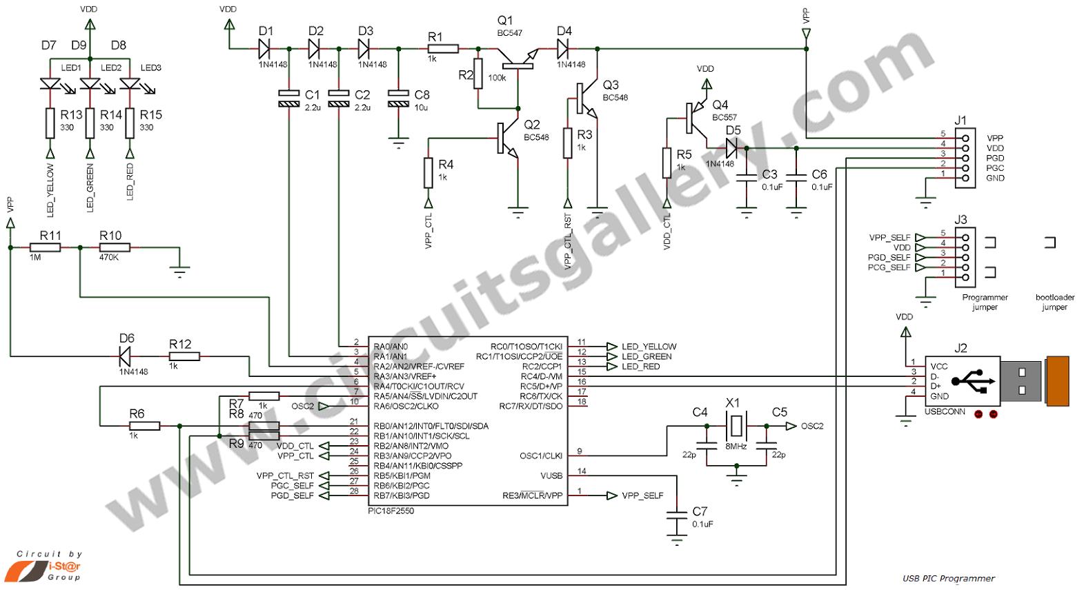 usb pic programmer schematic diagram auto electrical  auto electrical wiring diagram