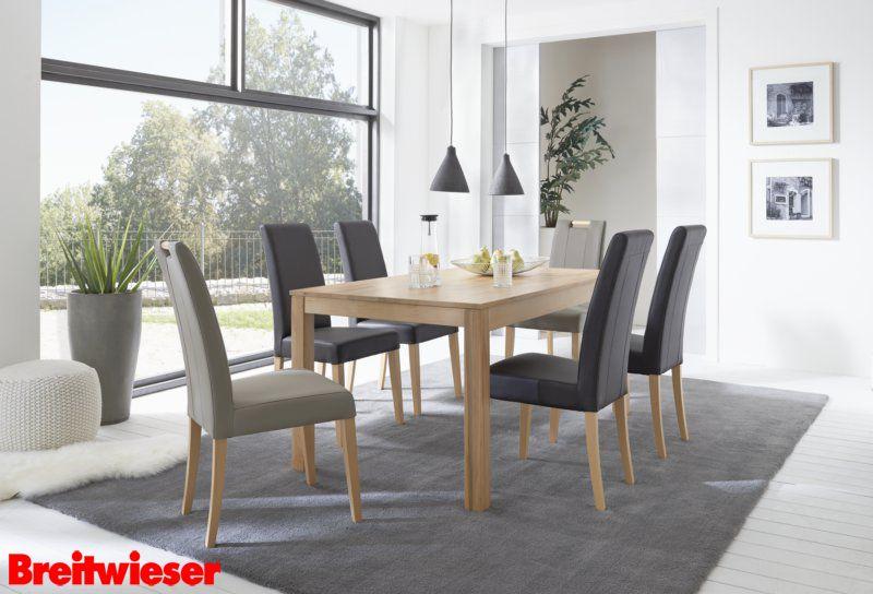 Esszimmer zum Wohlfühlen! #Esstisch #Stuhl #Kerbuche Esszimmer - designer stuhl esszimmer