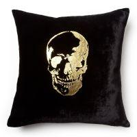 Velvet Skull Pillow - Maison 24 #ConvertToBlack | Skulls ...