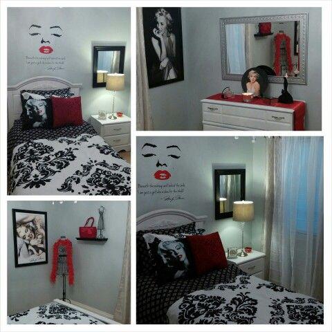 Marilyn Monroe theme bedroom Things I love Pinterest Theme - marilyn monroe bedroom ideas