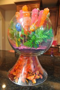 Finding Nemo Baby Shower Fish Bowl decoration | Disney ...