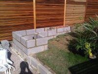 concrete garden wall - Google Search | Landscape ...