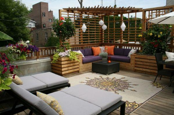 25 Urban Terrassengestaltung Beispiele Terrasse Pinterest - terrassengestaltung beispiele