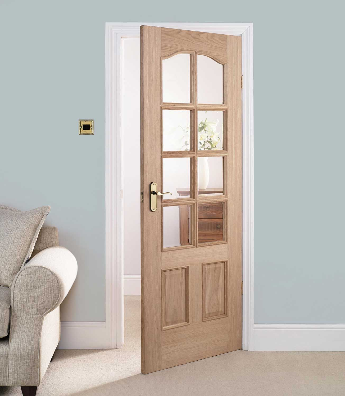 Interior glass panel doors 32 x 80 813mm x